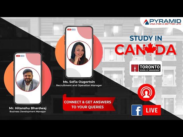 Toronto School of Management, Canada Live Session!!