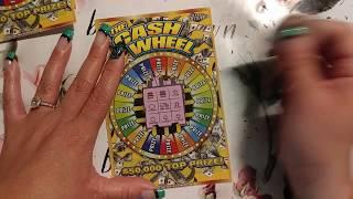 6 X $3 CASH WHEEL ~ TEXAS LOTTERY SCRATCH OFF TICKETS!!