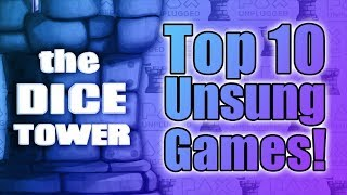 Top 10 Unsung Games