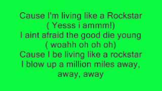Rockstar - Dappy ft Brian May LYRICS