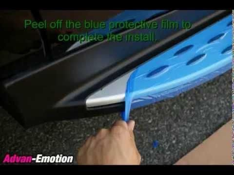 Running board install 11+ Mercedes Benz ML350 W166, Advan-Emotion.com