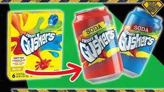 Juicing Gushers to Make CARBONATED Soda!