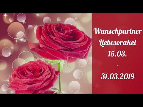 Wunschpartner Liebesorakel 15. 03.-  31. 03. 2019