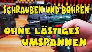 Lidl - PARKSIDE® Akku-Bohrschrauber PBSA 12 D3 - Vorstellung und Einsatztest