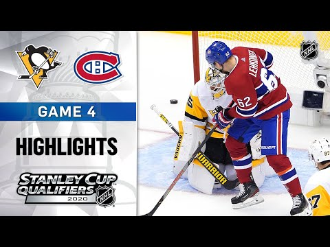 NHL Highlights | Penguins @ Canadiens, GM4 – Aug. 7, 2020