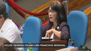 House hearing on ABS-CBN franchise renewal   Monday, July 6