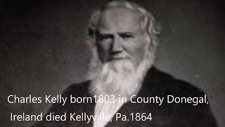 The old town of Kellyville Irish immigration into Pennsylvania