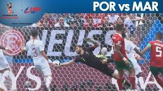 2018 FIFA: Rui Patricio incredible stretch to deny Younes Belhanda!