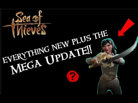 All Anniversary Update Items/Additions | Sea of Thieves
