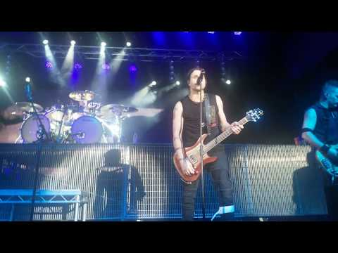 Three Days Grace -  The Abyss ( @Live in Yekaterinburg , 06.11.2018, Russia, Teleclub, 4k)