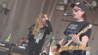 FRENZAL RHOMB - Punch In The Face @ Rockfest, Montebello QC - 2017-06-24