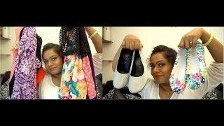 preview picture of video 'Kolkata New Market,Simpark Mall Fashion Haul'