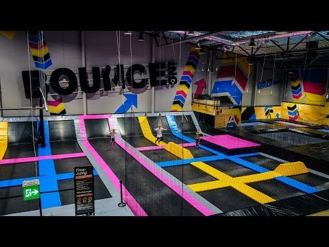 Trampoline Park Fun for Kids at Bounce