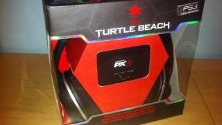 Turtle Beach Ear Force PX3 Gaming Headset Unboxing