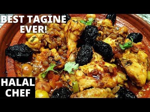 Moroccan Chicken Tagine Recipe - Tajine De Poulet