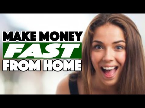 8 Ways to Make Money Fast From Home – How to Make Active Income Online