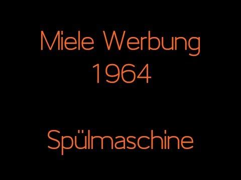Miele Werbung 1964 - Spülmaschine