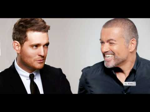 """GEORGE MICHAEL and  Michael Bublé  """"Kissing a Fool"""" - a tribute 1963 - 2016"""