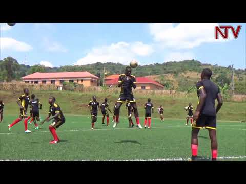 Uganda Cranes team in Tanzania to play Under-17 Nations Cup qualifiers