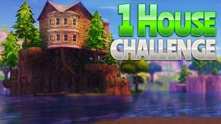 1 HOUSE CHALLENGE! (Fortnite Battle Royale)