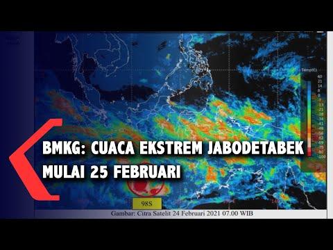 Siaga Banjir, BMKG Ingatkan Hujan Ekstrem Antara 25 Hingga 26 Februari