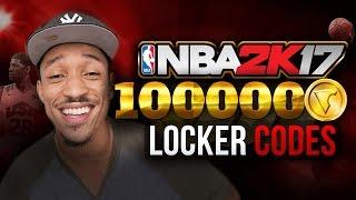 NBA 2K17 Locker Codes - Unlimited 100K VC Locker Codes [2017 - WORKING]