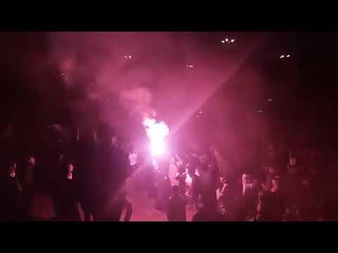 """FVRIA ROJA - 2018 NOCHE ROJA"" Barra: Fvria Roja • Club: Cienciano"