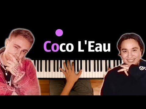 Егор Крид & The Limba - Coco L'Eau ● караоке   PIANO_KARAOKE ● ᴴᴰ + НОТЫ & MIDI