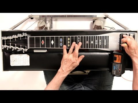 How to Tune to E9 Chromatic | Pedal Steel Guitar