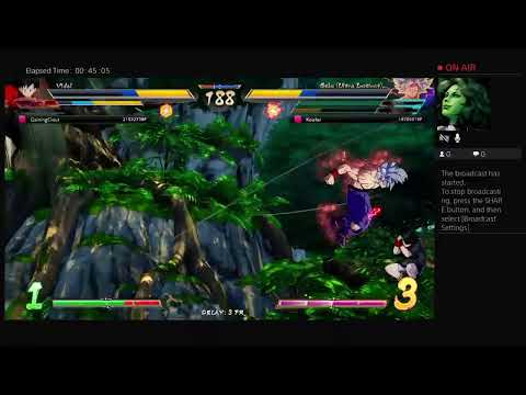 Black Streamers: I need a lot to rank up Dbfz matches