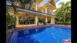 Platinum Residence Park   Outstanding Five Bedroom Two Storey House with Swimming Pool & Lots of Privacy for Sale in Rawai