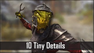 Skyrim: Yet Another 10 Tiny Details That You May Still Have Missed in The Elder Scrolls 5 (Part 34)
