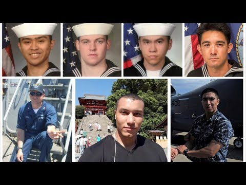 , title : 'US Navy Confirms All 7 Missing Sailors from USS Fitzgerald Found Dead'
