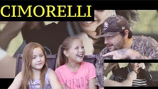 DAD AND DAUGHTERS REACTION TO CIMORELLI - CARS + PARKING LOTS (MV) WE MISSED THEM !!
