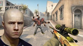 Изобрели читы против Мясника в CS:GO - Faceit + MM