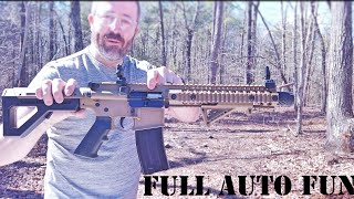 """FULL AUTO BB GUN - The Best """"Toy"""" EVER! 
