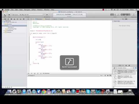 Objective-C Programming Tutorial 8- Switch Statement
