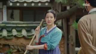 [Scholar Who Walks The Night] 밤을 걷는 선비 11회 - Lee Yu-bi cleaning 20150812