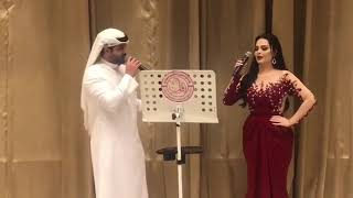 حفل زفاف العسيري والعلي الكرام في قاعات شيراتون الدفنه الدوحة مع الفنانين ابراهيم دشتي وديانا كرزون