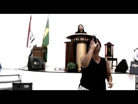 Igreja Evangélica Missões Nova Jerusalém Sede em Birigui SP-Liliane Louvando 11/01/2018