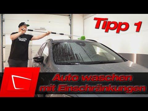 Auto waschen mit körperlicher Einschränkung? Waschbürste Alternative Microfiber Madness Incredipole