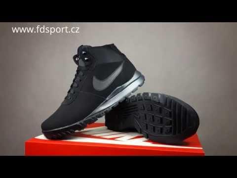 8c183031e631d5 Nike Hoodland Suede black anthracite günstig kaufen