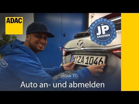 ADAC How To Auto an-  und abmelden mit Jean Pierre Kraemer I ADAC
