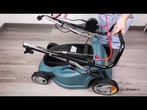 Tagliaerba elettrico Makita ELM3800 Video Recensione