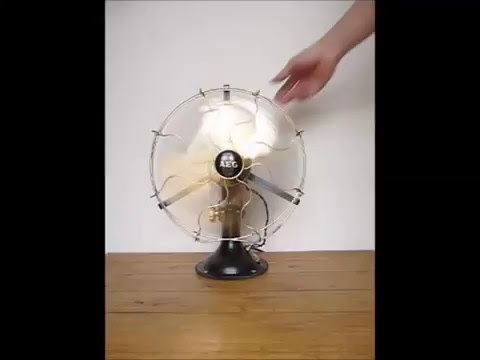 Video Ventilatore Fan AEG Novu2