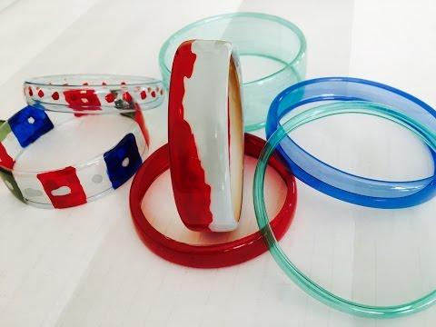 Armreifen / Armband aus PET Flaschen machen / DIY