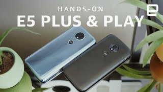 Moto E5 Plus and E5 Play Hands-on