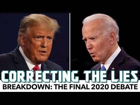Breakdown: The Final 2020 Debate