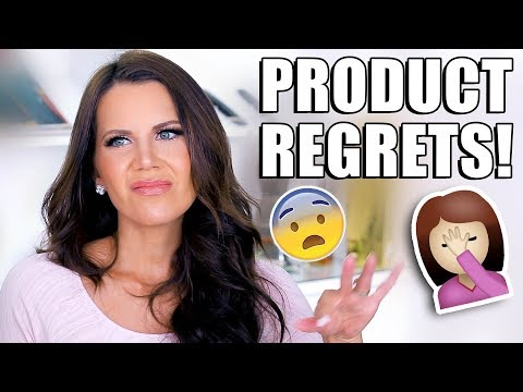 PRODUCTS I REGRET BUYING …