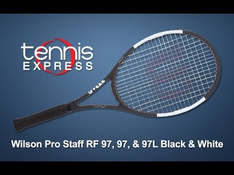 Pro Staff 97 Black and White Tennis Racquet Review | Tennis Express
